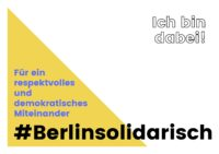 2021 Ich bin dabei #berlinsolidarisch